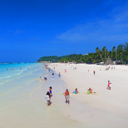 Virgin White Sand Beaches